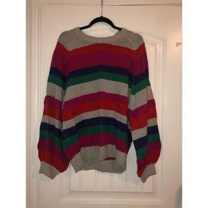 Boohoo Striped Sweater